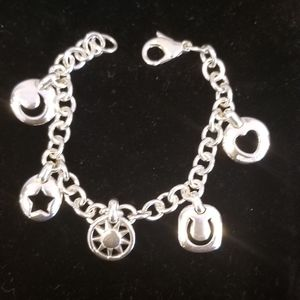 Authentic Tiffany Charm Bracelet